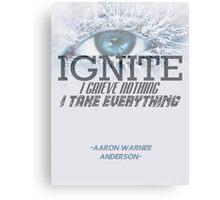 Ignite - Aaron Warner Canvas Print