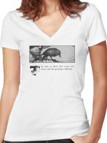 The Dark Tower - Stephen King Women's Fitted V-Neck T-Shirt
