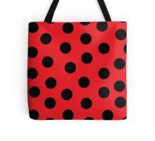 Ladybug Print Tote Bag