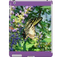 Tiger Swallowtail On Chaste Tree iPad Case/Skin