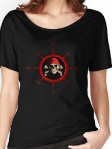 Pirate Compass Rose Women's Relaxed Fit T-Shirt