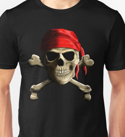 Skull And Crossbones Unisex T-Shirt