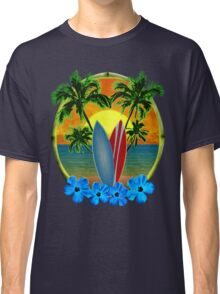 Sunset And Surfboards Classic T-Shirt