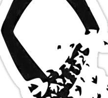 Shadowhunter symbol Sticker