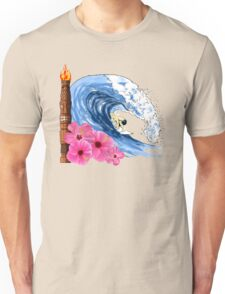 Hawaiian Surfing Unisex T-Shirt