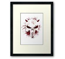punisher from daredevil Framed Print