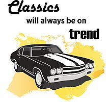classics will always be on trend Photographic Print