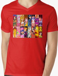 80s Girls Totally Radical Cartoon Spectacular!!! - WOMEN OF ACTION EDITION! Mens V-Neck T-Shirt