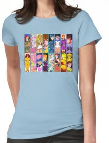 80s Girls Totally Radical Cartoon Spectacular!!! - WOMEN OF ACTION EDITION! Womens Fitted T-Shirt