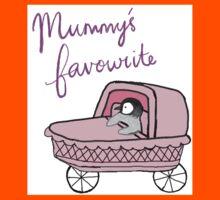 Mummy's Favourite Baby Penguin Kids Tee