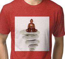 Asia Buddha Tri-blend T-Shirt