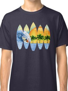 Surfer And Surfboards Classic T-Shirt
