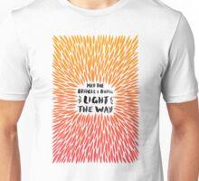 Bridges Burned – Fiery Palette Unisex T-Shirt