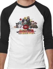 Super Meat Boy Men's Baseball ¾ T-Shirt