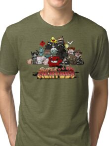Super Meat Boy Tri-blend T-Shirt
