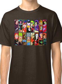 80s Girls Totally Radical Cartoon Spectacular!!! - BAD GIRLS EDITION! Classic T-Shirt