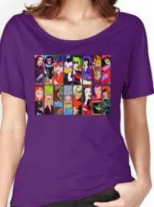 80s Girls Totally Radical Cartoon Spectacular!!! - BAD GIRLS EDITION! Women's Relaxed Fit T-Shirt