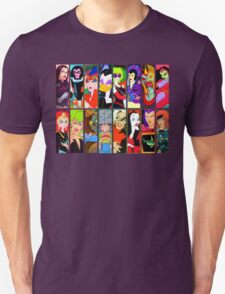 80s Girls Totally Radical Cartoon Spectacular!!! - BAD GIRLS EDITION! Unisex T-Shirt