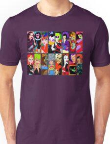 80s Girls Totally Radical Cartoon Spectacular!!! - BAD GIRLS EDITION! Unisex T-Shirt