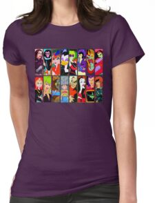 80s Girls Totally Radical Cartoon Spectacular!!! - BAD GIRLS EDITION! Womens Fitted T-Shirt