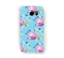 pearl in a shell, fish-bones, marine  Samsung Galaxy Case/Skin