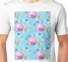 pearl in a shell, fish-bones, marine  Unisex T-Shirt
