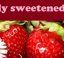 Strawberry Haiku Sticker