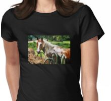 Pretty Paint Womens Fitted T-Shirt
