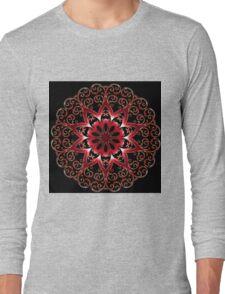 Mandala Style Modern Long Sleeve T-Shirt