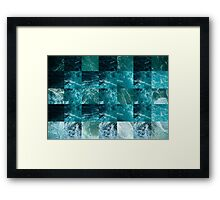Abstract sea Framed Print