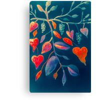 Grape Love Canvas Print
