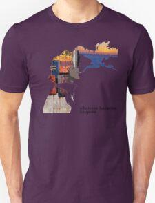 Spike Spiegel - Whatever happens Unisex T-Shirt
