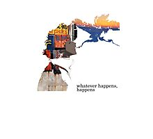 Spike Spiegel - Whatever happens Photographic Print