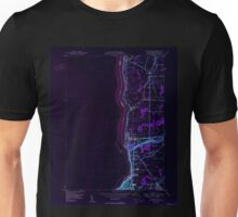 New York NY Lewiston 130254 1950 24000 Inverted Unisex T-Shirt
