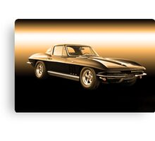 1965 Corvette Stingray Coupe Canvas Print