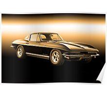 1965 Corvette Stingray Coupe Poster