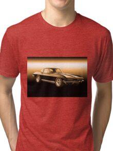 1965 Corvette Stingray Coupe Tri-blend T-Shirt