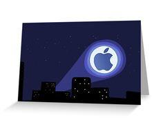 Apple Signal Greeting Card