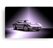 1971 Corvette C3 Stingray ZR1 Canvas Print