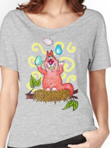 Easter Mischief - the egg-crobat Women's Relaxed Fit T-Shirt