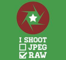 I Shoot? - Photography Kids Tee