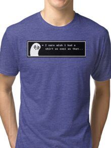 Undertale Napstablook Tri-blend T-Shirt