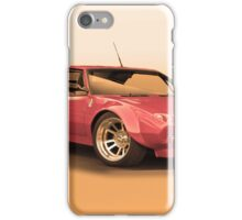 1972 DeTomaso Pantera II iPhone Case/Skin