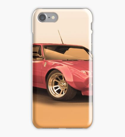 1972 DeTomaso Pantera II iPhone Case/Skin