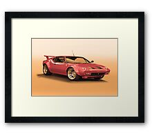 1972 DeTomaso Pantera II Framed Print