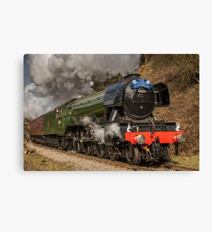 The Flying Scotsman Canvas Print
