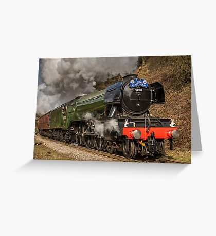 The Flying Scotsman Greeting Card