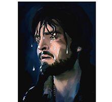 Athos painted illustration Photographic Print