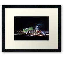 The Flying Scotsman, 2016 Framed Print