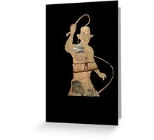 Indiana Jones- Trilogy  Greeting Card